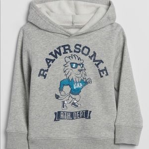 Toddler Varsity Graphic Hoodie Sweatshirt